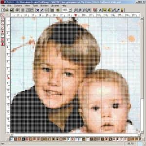Програма PCStitch7 для створення схем вишивки