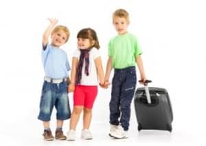 Збирати дітей у подорож