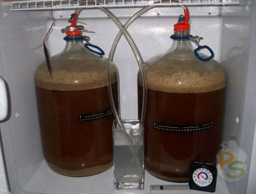 Как делают крепкое пиво