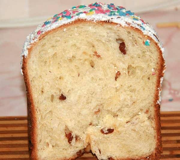 Пасхальный кулич в хлебопечке рецепты с фото
