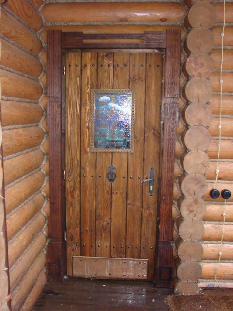 Двер в баню своими руками 84