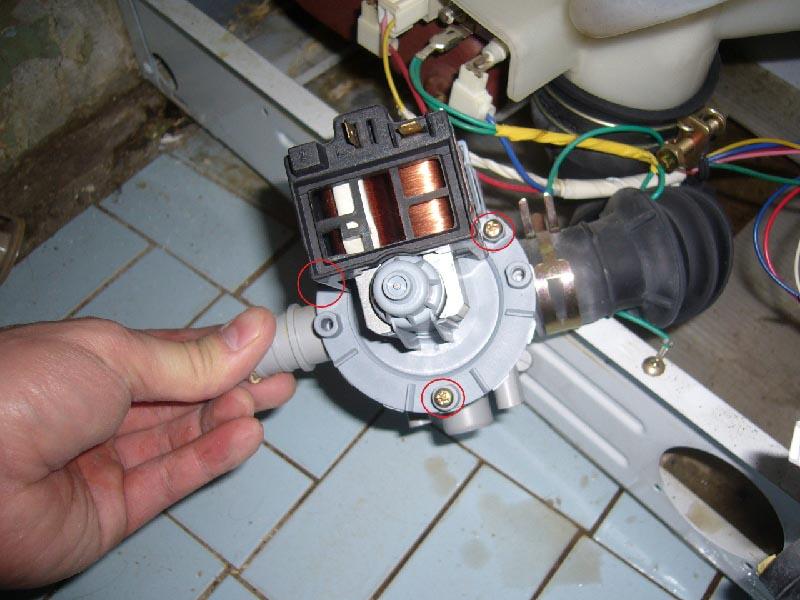 Ремонт помпы стиральной машины своими руками электролюкс