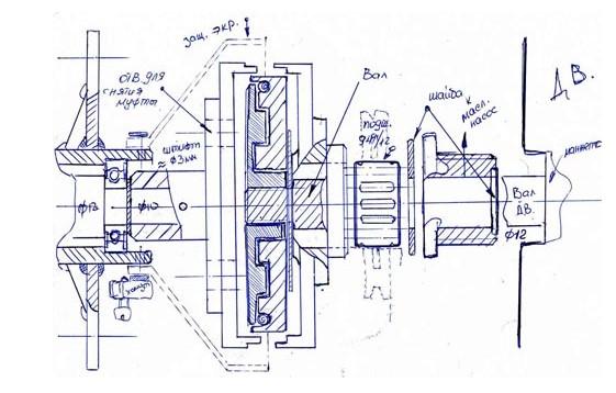 Лодочный мотор из бензопилы своими руками чертежи 34