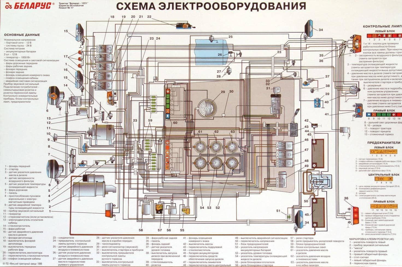 Проводка схема и описание